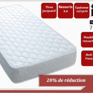Matelas-confort-orthopedique-tunisie-90-190