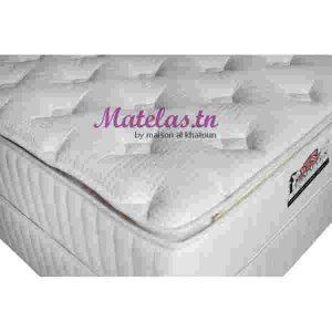 Matelas double pillow_top 140x190 orthopédique PERMAFLEX