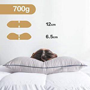 lot de 4 oreillers confort Dupon 50x70