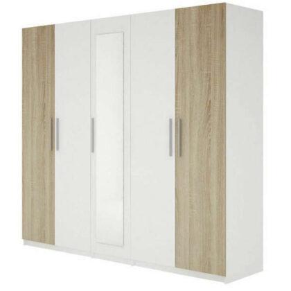 Armoire 5 portes blanc chêne Tunisie