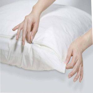 oreiller déhoussable avec zip en Tunisie